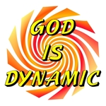 Fun Christian T-shirts with a hypnotic twist God is Dynamic on the front - Trust Him on the back. Get Hip with Jesus with these trendy Christian T-shirts - Spread the Word!