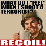 Soldiers Feel Only Recoil Design