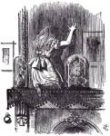 From Through the Looking Glass, written by Lewis Carroll and illustrated by Sir John Tenniel.