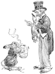 Description: One of Harry Rountree's illustrations for Lewis Carroll's <i>Alice in Wonderland.</i>