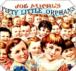 Fifty Little Orphans cigar label artwork.