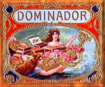 Dominador cigar label artwork.