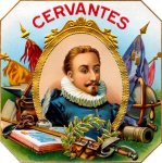 Cervantes cigar label arwork.