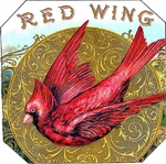 Red Wing cigar label artwork.