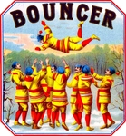 Bouncer Cigar Label