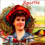 Sportie Cigar Label