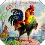 Cock of the Roost Cigar Label