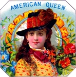 American Queen Cigar Label