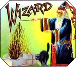 Wizard Cigar Label