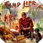 Camp Life Cigar Label