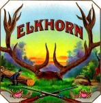 Elkhorn Cigar Label