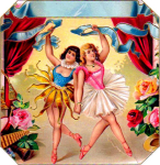 Ballet Girls Cigar Label