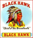 Black Hawk Cigar Label