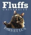 Fluffs - White Text
