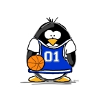 Shop for basketball t-shirts for the whole family. basketball penguin is an original penguin design by JGoode. Perfect for penguin lovers!