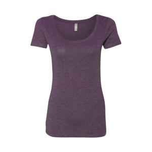 Next Level Women's Tri-Blend Scoop T-Shirt