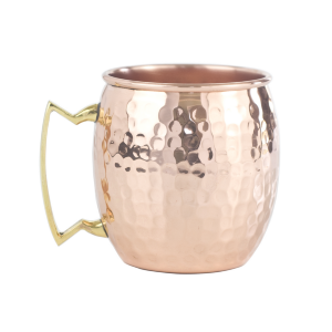 Hammered Copper Mug (16 oz)
