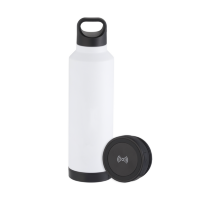 Max Copper Vacuum Bottle with Wireless Charger (17 oz)