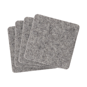Linden Recycled Felt Coaster Set