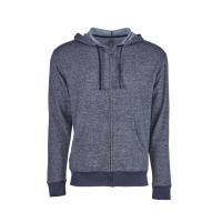 Next Level Denim Fleece Full-Zip Hoodie