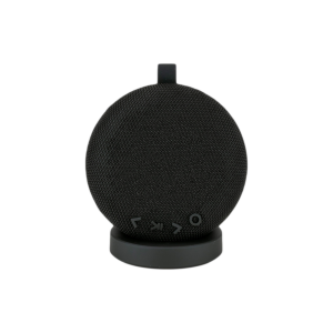 Wireless Fabric Speaker with Portable Charging Dock