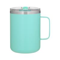 Powder-Coated Camper Mug (16.9 oz)