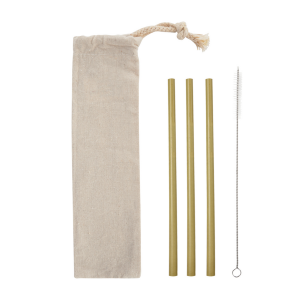 Bamboo 3-Pack Straw Set