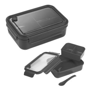 Three-Compartment Bento Box