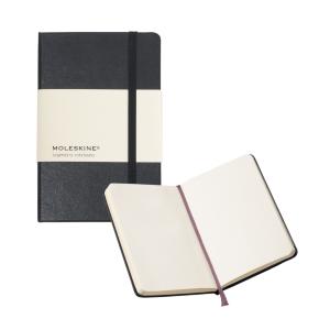 "Moleskine® Unlined Pocket Notebook (3.5"" x 5.5"")"
