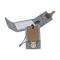 Feltro Upcycled Luggage Tag