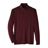 North End Men's Snap-Up Stretch Performance Pullover