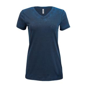 Threadfast Apparel Cross Dye Short-Sleeve V-Neck T-Shirt (Women's)