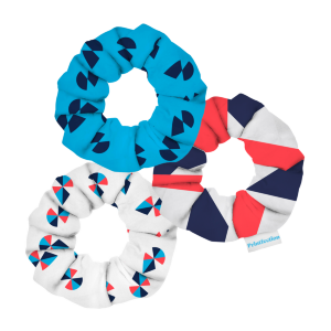 Custom Dye-Sublimated Scrunchie