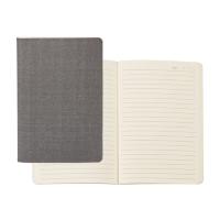 """Linen Soft Cover Journal (5"""" W x 8.13"""" H)"""