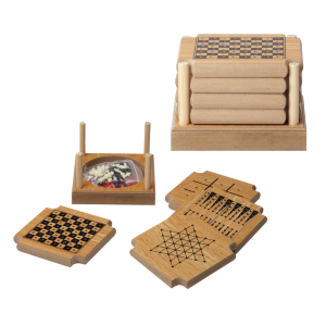 4-Piece Coaster Game Set
