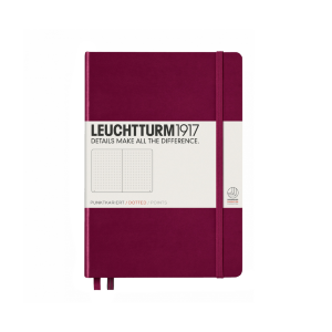 "Leuchtturm1917 Medium Hardcover Notebook (5.75"" x 8.25"")"