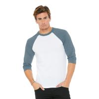 BELLA+CANVAS 3/4 Raglan Sleeve Baseball T-Shirt (Unisex)