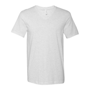 BELLA+CANVAS Short Sleeve V-Neck Jersey T-Shirt (Unisex)