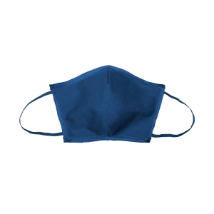 Flat-Fold Canvas Face Mask