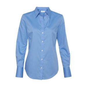 Calvin Klein Non-Iron Dobby Pindot Shirt (Women's)