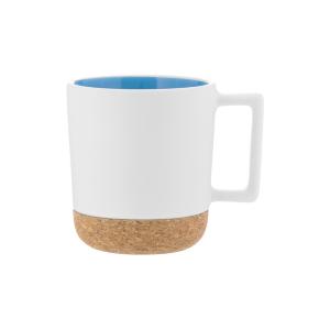Iris Cork-Bottom Mug (12 oz)