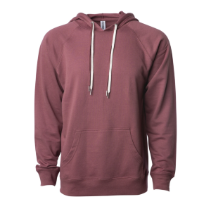 Independent Trading Co. Lightweight Terry Hooded Pullover Sweatshirt (Unisex)