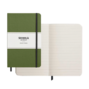 "SHINOLA Medium Hardcover Journal (5.25"" x 8.25"")"