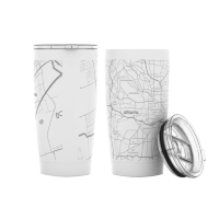 Well Told Home Town Maps Insulated Tumbler (20 oz)