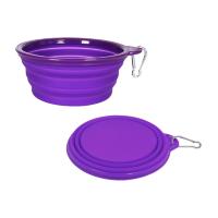 Pet Food Collapsible Travel Bowl (32 oz)
