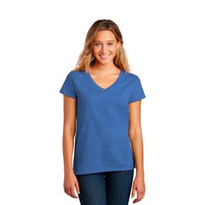 District V-Neck Re-Tee Shirt (Women's)