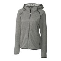 Cutter & Buck Mainsail Sweater-Knit Full-Zip Hooded Jacket (Women's)