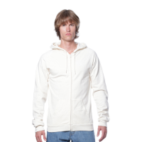 Royal Apparel Organic Cotton Full-Zip Hoodie (Unisex)