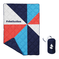 Custom Dye-Sublimated Quilted Puff Blanket
