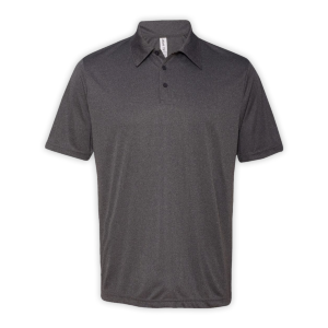 All Sport Unisex Performance Three-Button Mesh Polo